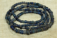 Ancient Roman Dig Beads, lovely Blue