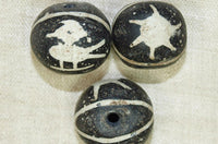 Old Indonesian Glass Bird Bead