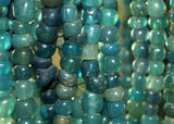 Ancient Cambodian Glass Beads, Aqua Green