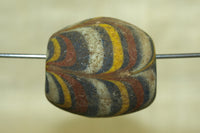 Old, Large Glass Bead from Java, Indonesia