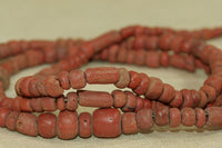 Old Brick Red Tradewind Glass Beads