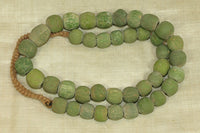 Strand Chartreuse Majapahit beads