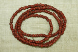 Old Brick Red Tradewind Beads