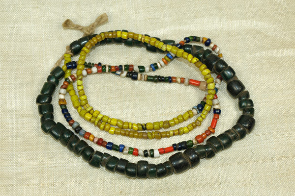 Colorful Antique Bonda Beads from India