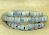 #1 Quality Strand of Very Rare Oparté Beads from the 1700s