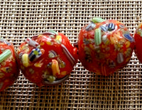Small Japanese End of Day Beads