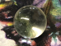 Gorgeous, High quality Quartz Crystal Ball; 22mm