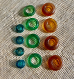Antique Dogon Donuts, 3 Colors!