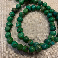 Afghan Green Turquoise Beads