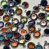 Swarovski 4mm Round Set Charms, 30 pieces