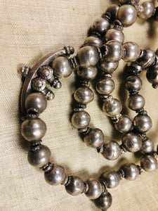 Antique Silver Beads from India