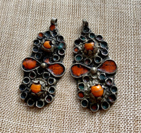 Berber Enameled Pair
