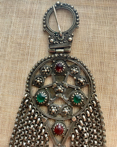 Antique Fibula/Pendant with Fringe