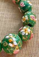 Early 1900's Venetian Wedding Cake Beads, Set