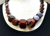 Huge Strand of Gorgeous Idar-Oberstein Carnelian Beads