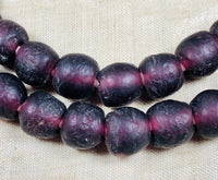 10mm Dark Amethyst Recycled Glass