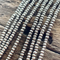 Thai Silver 2mm Seed beads