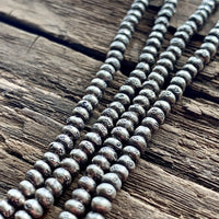 Thai Silver Tiny Stamped Beads