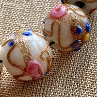 1950's Venetian Wedding Cake Beads, Set