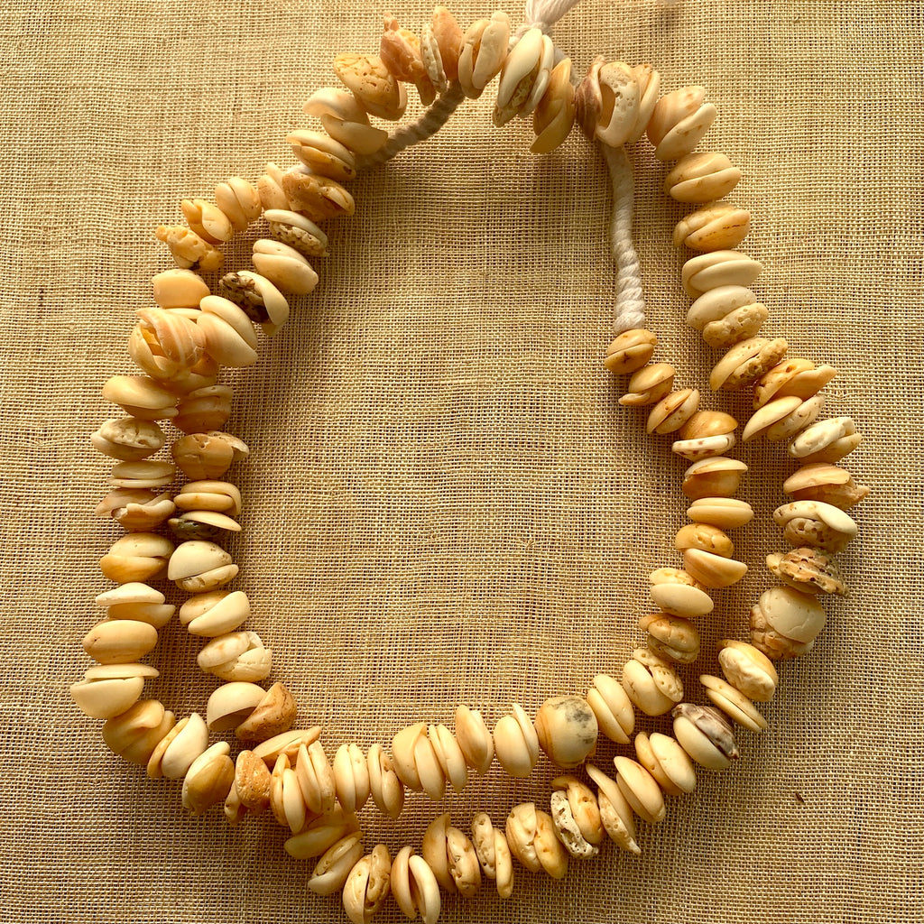 Strand of small Shell Beads, Mauritania