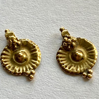 18Kt Gold Sunburst Dangles, India