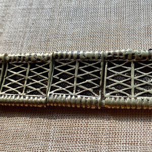Vintage 1950s Bronze Thai Belt