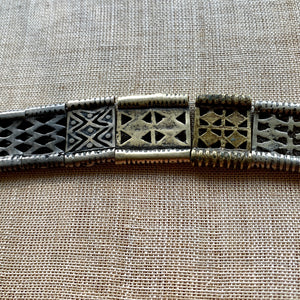 Mixed Vintage 1950s Bronze Thai Belt