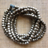 Lovely Anklet of Antique Silver Beads from Ethiopia