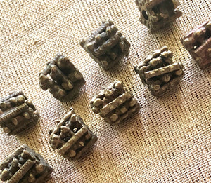Lumpy Brass Beads from Yemen