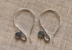 Thai Silver Fancy Ear Wires