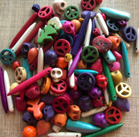 Dyed Howlite Fun Mix