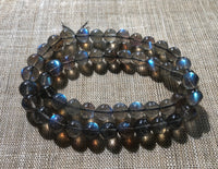 7mm Labradorite Round Beads