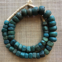 Very Rare Blue Hebron Beads