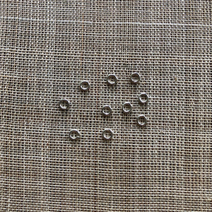 3mm Sterling Soldered Jump Rings