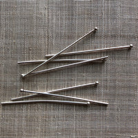 12 Gauge Heavy Handmade Ball Pins