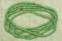 Light Minty Green Seed Beads, 10º
