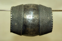 Large Afghan Silver Bead