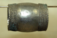 Large Silver Bead from Afghanistan