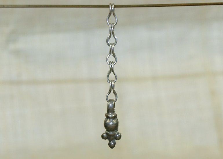 Silver Drop on Chain