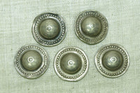 Afghan Silver Buttons, set