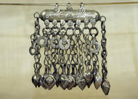 Antique Silver Afghan Pendant