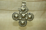 Studded German Silver Cross from Afghanistan