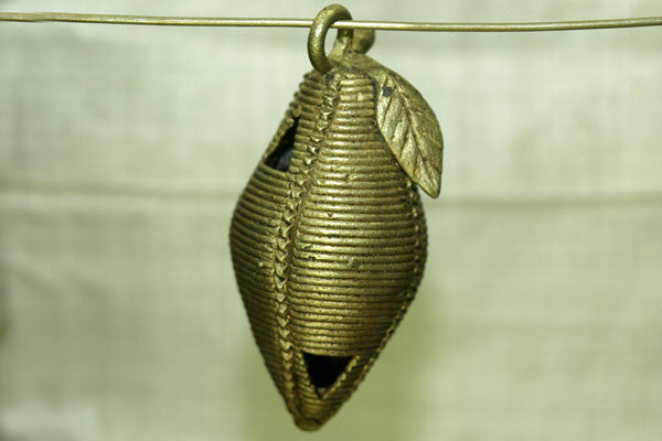 Baule Brass Fruit Pendant