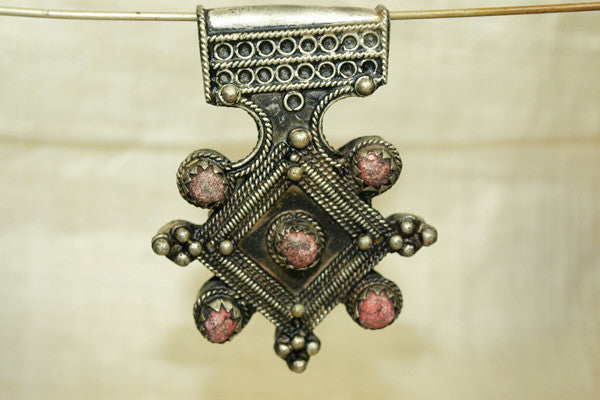 Cool Berber Moroccan Nickel Silver Cross