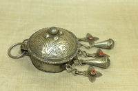 1920s Silver Berber Prayer Box