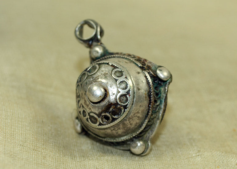 Rare Berber Silver Hair Ornament
