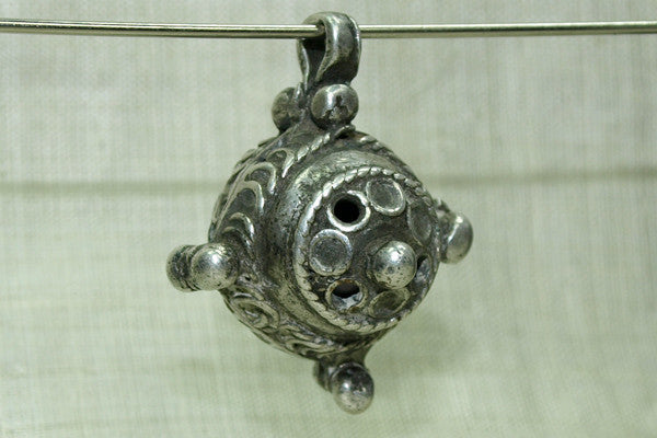 Rare Berber High Silver Hair Ornament, N