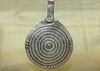 "Large Vintage Silver Berber ""Eye of God"" Pendant"