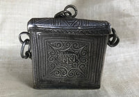 Antique Berber Silver Pendant/Box