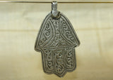 Vintage Silver Hand of Fatima Pendant